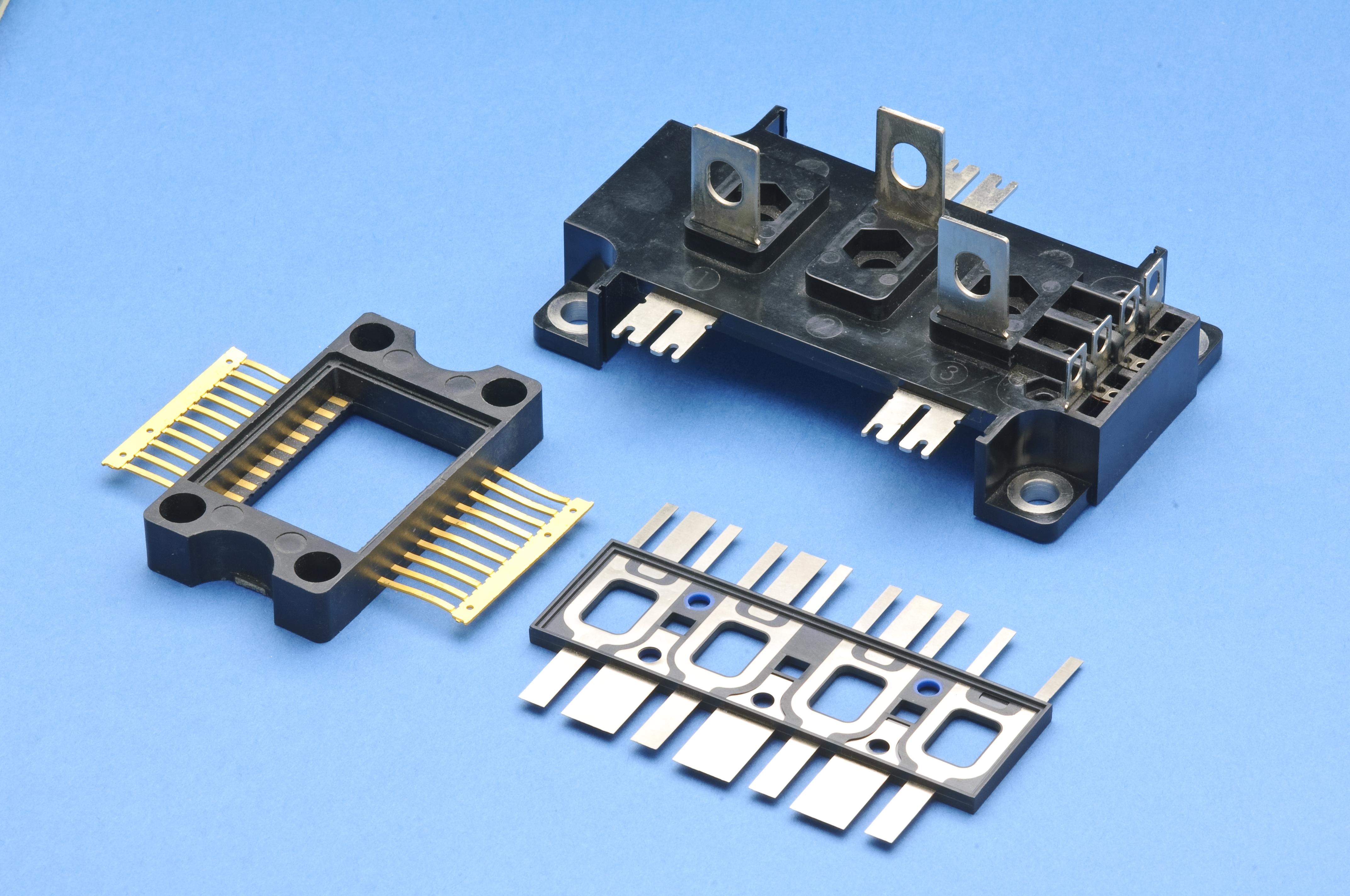 Cable Overmolding Dies : Insert molding compression transfer